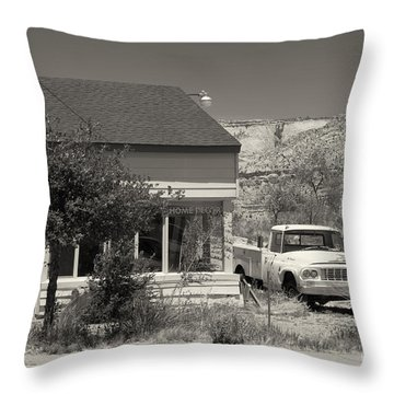 Throw Pillow featuring the photograph Broken Dreams by Juergen Klust