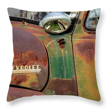 Throw Pillow featuring the photograph Broken Dreams by Steven Bateson