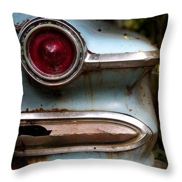 Broken Elegance Throw Pillow