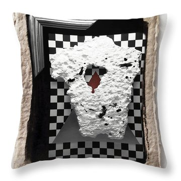 Broken Heart  Throw Pillow by Mauro Celotti