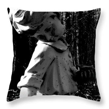 Broken Memorial Throw Pillow by Kristie  Bonnewell