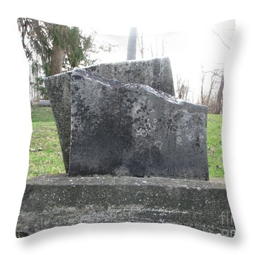 Throw Pillow featuring the photograph Broken by Michael Krek