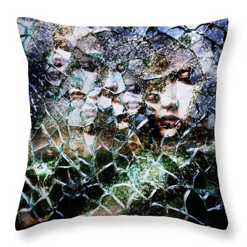 Chaos Throw Pillows
