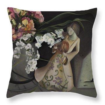 Broken Peace Throw Pillow