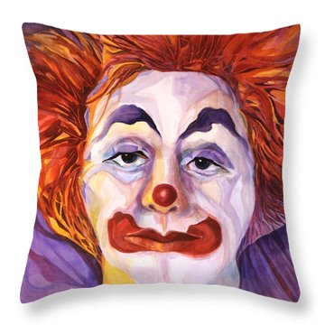 Brokenhearted Throw Pillow by Carolyn LeGrand