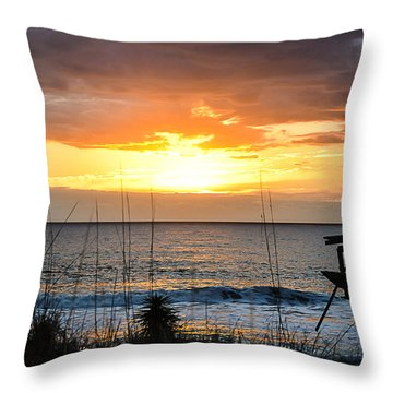 Brokenness And Beauty  Throw Pillow