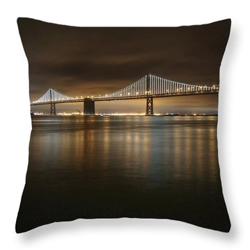 Bronze And Gold Throw Pillow