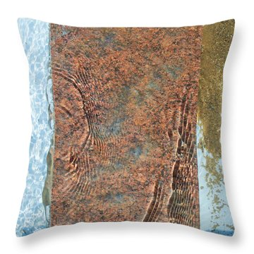 Brook Stone Throw Pillow