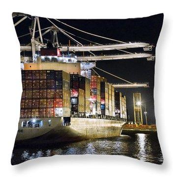 Brooklyn Bridge By Denise Dube Throw Pillow