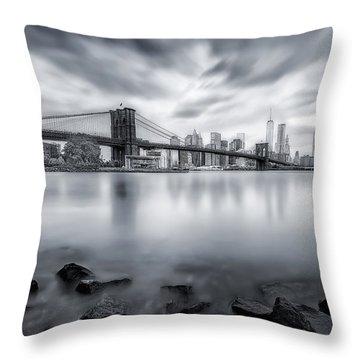 Hudson River Throw Pillows
