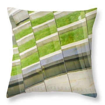 Brooklyn Museum Abstract Throw Pillow