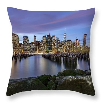 Brooklyn Park  Throw Pillow