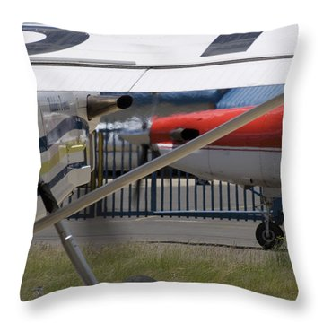 Brother And Sister Throw Pillow by Paul Job