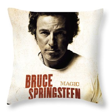 Bruce Throw Pillow by Bruce