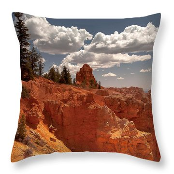 Bryce Canyon Sky  Throw Pillow