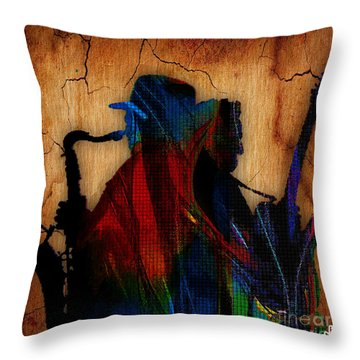 Bruce Springsteen Collcetion Throw Pillow