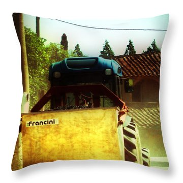 Brunello Taxi Throw Pillow