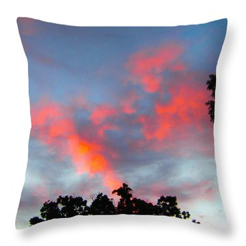 Brush Strokes Throw Pillow by Zafer Gurel
