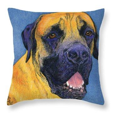Brutus #2 Throw Pillow
