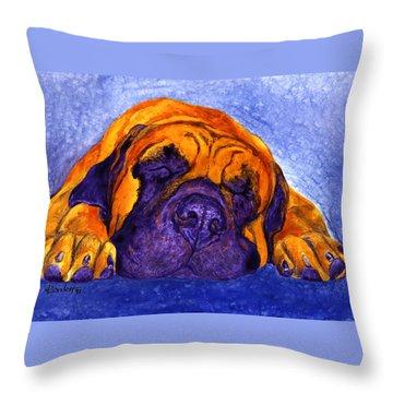 Brutus Throw Pillow