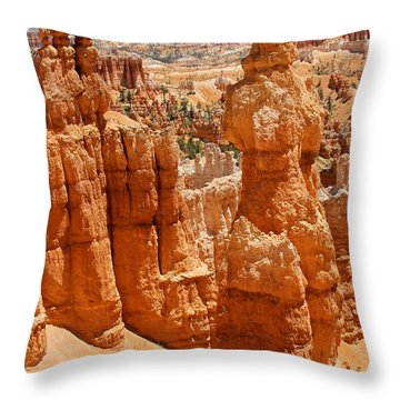 Bryce Canyon 2 Throw Pillow by Mike McGlothlen