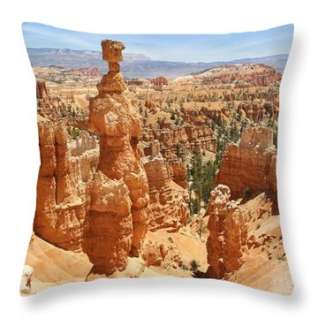 Bryce Canyon 3 Throw Pillow by Mike McGlothlen