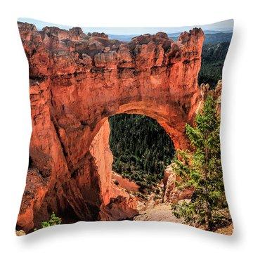 Bryce Canyon Arches Throw Pillow