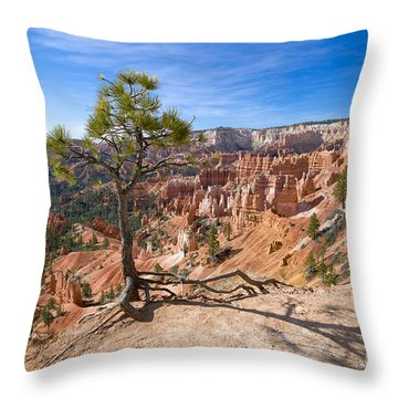 Throw Pillow featuring the photograph Bryce Canyon by Juergen Klust