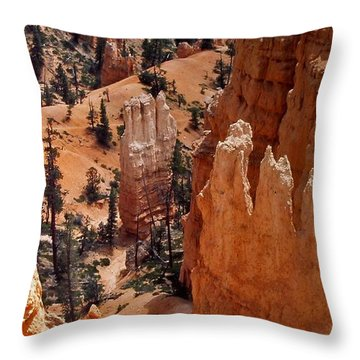 Bryce Canyon National Park 2 Throw Pillow by Thomas Woolworth