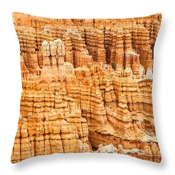 Bryce Canyon National Park Throw Pillow by Denise Bird