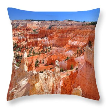 Bryce Canyon Utah Throw Pillow