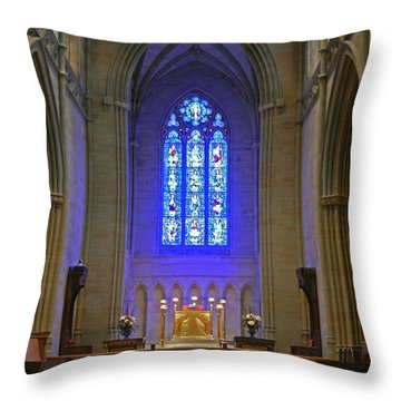 Bryn Athyn Cathedral Altar Throw Pillow