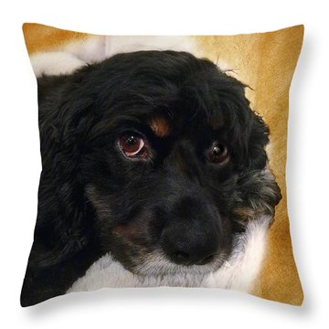 Bubba Throw Pillow