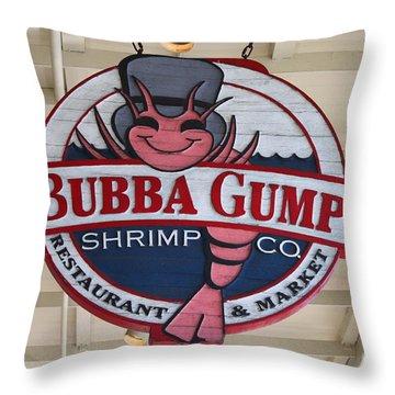 Bubba Gump Shrimp Co. Throw Pillow