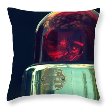 Bubble Light Throw Pillow