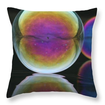 Bubble Spectacular Throw Pillow