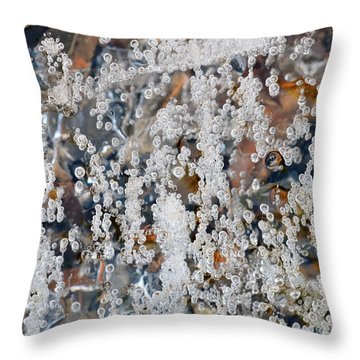 Bubble Up II Throw Pillow