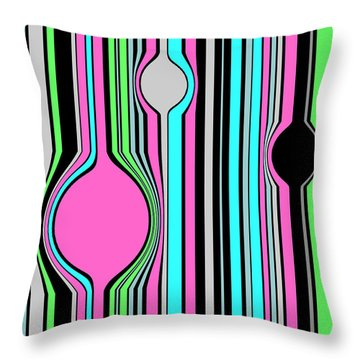 Bubbles  C2014 Throw Pillow by Paul Ashby