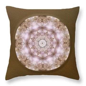 Buddha Blessing Throw Pillow