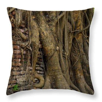 Budhism Throw Pillows