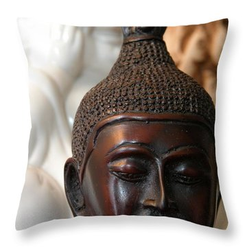 Buddhas Throw Pillow