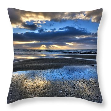 Bue Sky Reflections Throw Pillow