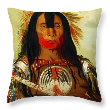 Buffalo Bill's Back Fat Throw Pillow