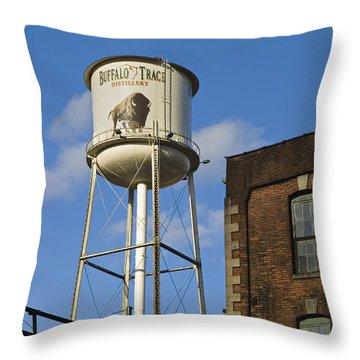 Buffalo Trace - D008739a Throw Pillow