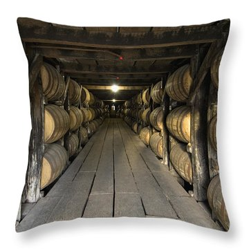 Buffalo Trace Rick House - D008610 Throw Pillow