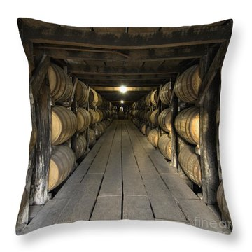 Buffalo Trace Rick House - D008610sq Throw Pillow