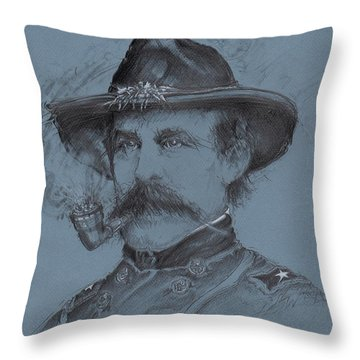 Buford's Stand Throw Pillow