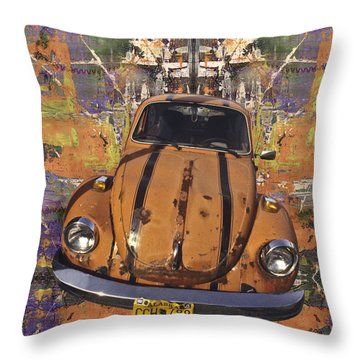 Bug Love Throw Pillow by Bruce Stanfield