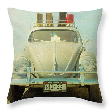 Bug On A Trip Throw Pillow