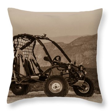 Buggy Throw Pillow